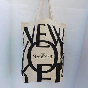 THE NEW YORKER CANVAS TOTE BAG NWOT